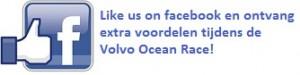volvo ocean race - like us on facebook